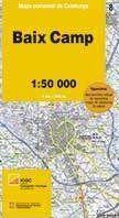 08 BAIX CAMP 1:50.000 -MAPA COMARCAL CATALUNYA ICC