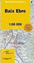 09 BAIX EBRE 1:50.000 -MAPA COMARCAL DE CATALUNYA ICC