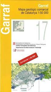 17 GARRAF 1:50.000 -MAPA COMARCAL CATALUNYA ICC