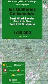 66 LES GUILLERIES COLLSACABRA [1:25.000] -UNITATS GEOGRAFIQUES -ICC