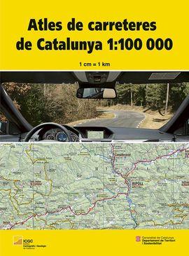 ATLES DE CARRETERES DE CATALUNYA 1:100.000 -ICGC