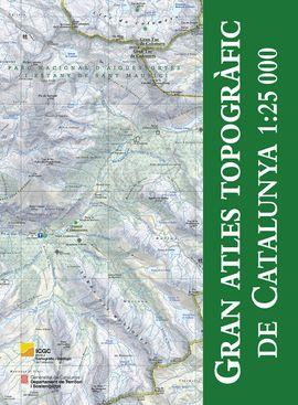 GRAN ATLES TOPOGRÀFIC DE CATALUNYA 1:25.000 -ICGC