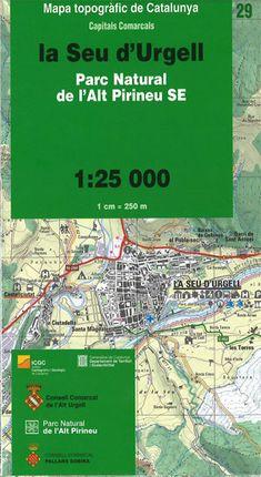 29 LA SEU D'URGELL 1:25.000 -ICGC