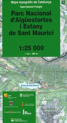 42 PN AIGUESTORTES I ESTANY DE SANT MAURICI 1:25.000 -ICGC