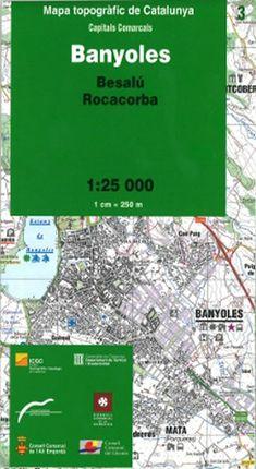 03 BANYOLES 1:25.000 -ICGC