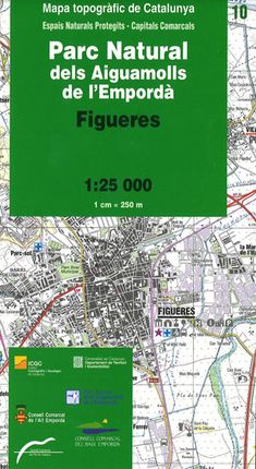 10 PARC NATURAL DELS AIGUAMOLLS DE L'EMPORDÀ 1:25.000 -ICGC
