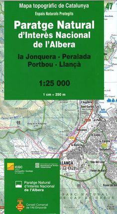 47 PARATGE NATURAL DE L'ALBERA 1:25.000 -ICGC
