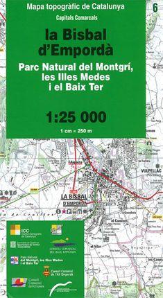 06 PN DEL MONTGRI, LES ILLES MEDES I EL BAIX TER 1:25.000 -ICGC