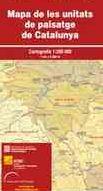 MAPA DE LES UNITATS DE PAISATGE DE CATALUNYA 1:250.000 -ICGC