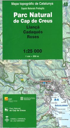 48 PN DE CAP DE CREUS 1:25.000 -ICGC