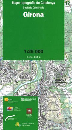12 GIRONA 1:25.000 -ICGC