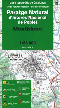 19 MONTBLANC 1:25.000 -ICGC