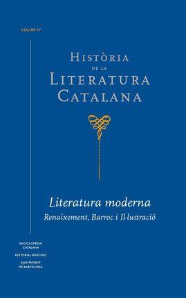 HISTÒRIA DE LA LITERATURA CATALANA VOL.4