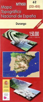 62 (22-05) DURANGO 1:50.000- CNIG