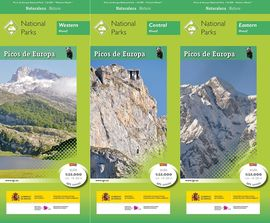 PICOS DE EUROPA, NATIONAL PARK [ENG][3 MAPAS + GUIA] -
