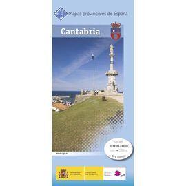 CANTABRIA 1:200.000 -MAPA PROVINCIAL -CNIG