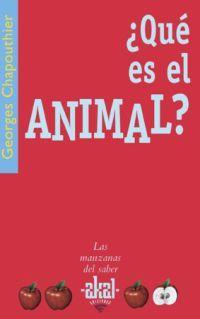 ¿QUE ES EL ANIMAL?