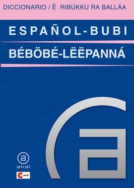 DICCIONARIO ESPAÑOL - BUBI