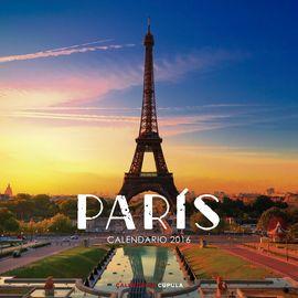 2016 PARIS -CALENDARIO