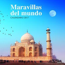 2017 MARAVILLAS DEL MUNDO -CALENDARIO