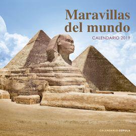 2019 MARAVILLAS DEL MUNDO [CALENDARIO]