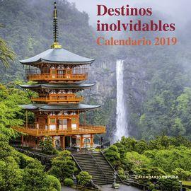 2019 DESTINOS INOLVIDABLES [CALENDARIO]
