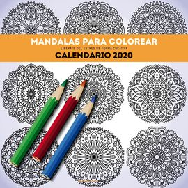 2020 CALENDARIO MANDALAS PARA COLOREAR -CUPULA