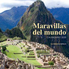 2020 CALENDARIO MARAVILLAS DEL MUNDO -CUPULA