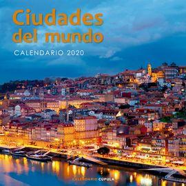 2020 CALENDARIO CIUDADES DEL MUNDO -CUPULA