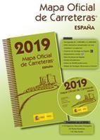 2019 MAPA OFICIAL DE CARRETERAS ESPAÑA [CAJA][+ DVD]