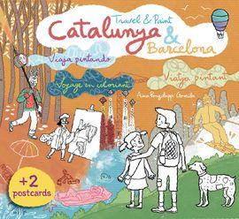 CATALUNYA & BARCELONA TRAVEL & COLORING