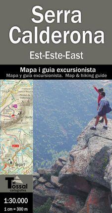 SERRA CALDERONA EST/OEST 1:30.000 [2 MAPES] -EL TOSSAL