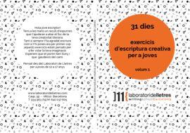 31 DIES - EXERCICIS D'ESCRIPTURA CREATIVA PER A JOVES