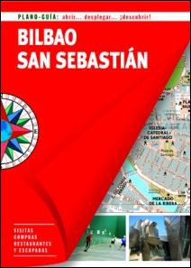 BILBAO / SAN SEBASTIAN. PLANO GUIA -EDICIONES B