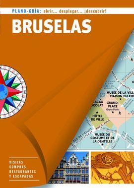 BRUSELAS. PLANO GUIA -EDICIONES B