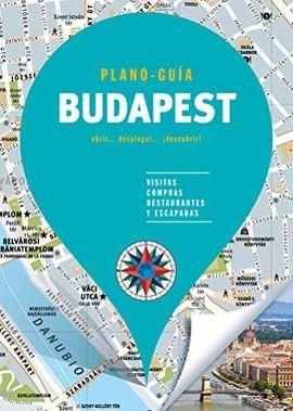 BUDAPEST. PLANO GUÍA -EDICIONES B