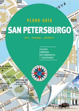SAN PETERSBURGO. PLANO GUIA -EDICIONES B