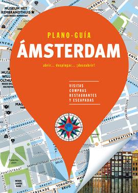 ÁMSTERDAM. PLANO GUIA -EDICIONES B