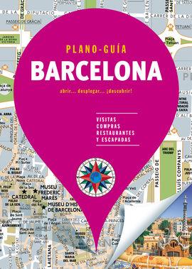 BARCELONA. PLANO GUIA -EDICIONES B