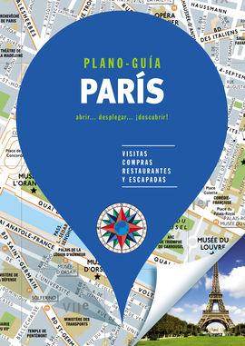 PARÍS. PLANO GUIA -EDICIONES B