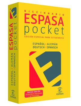 ESPAÑOL- ALEMAN. DICCIONARIO ESPASA POCKET