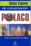 POLACO, GUIA DE CONVERSACION -ESPASA