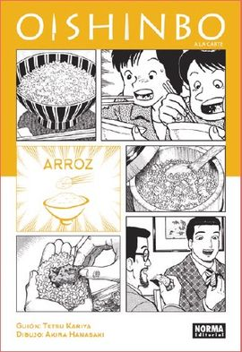6. OISHINBO A LA CARTE - ARROZ