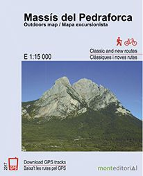 MASSÍS DEL PEDRAFORCA 1:15.000 -MONT EDITORIAL