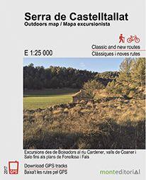 SERRA DE CASTELLTALLAT  1:25.000 -MONT EDITORIAL