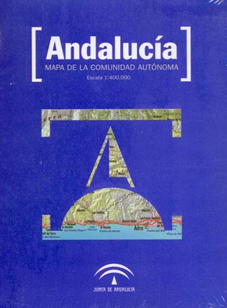 ANDALUCIA [DVD] MAPA DE LA COMUNIDAD AUTONOMA 1:400.000