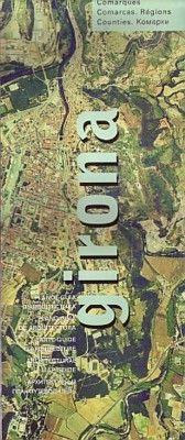 GIRONA -PLANO GUIA D'ARQUITECTURA