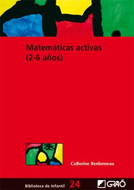 MATEMATICAS ACTIVAS (2-6 AÑOS)