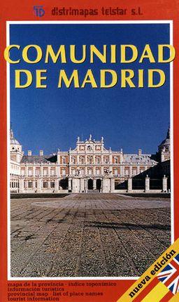 COMUNIDAD DE MADRID [1:210.000]-TELSTAR