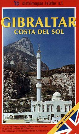 GIBRALTAR COSTA DEL SOL 1:350.000 -TELSTAR